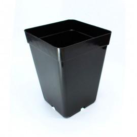 Maceta Cuadrada Negra 3 Lts (15x15x20 cm)