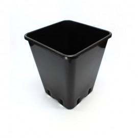 Maceta Cuadrada Negra 11 Lts (25x25x26 cm)