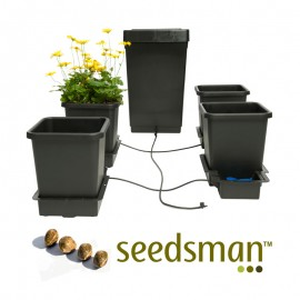 Sistema Hidropónico Autopot + 4 Semillas Seedsman