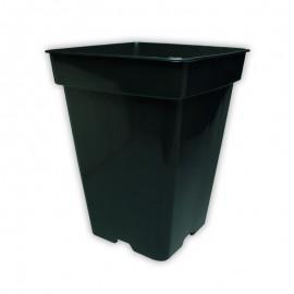 Maceta Cuadrada Negra 7 Lts (20x20x27 cm)