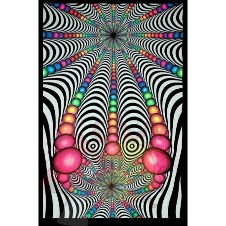 TELA vortice fractal UV